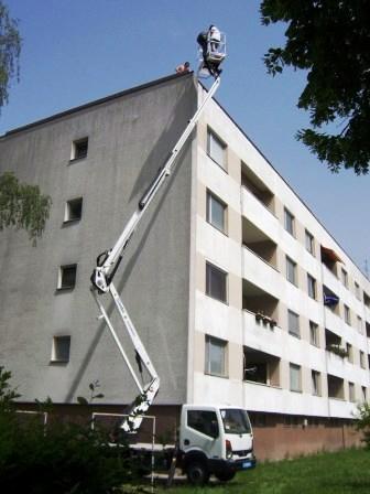 LKW Arbeitsbühne 20m Vermietung Kempus Baumaschinen Nidda